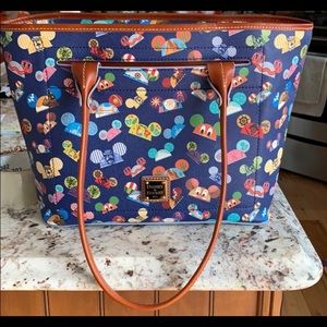Dooney and Burke tote Disney ear hats